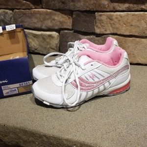 Champion White & Pink Sneakers Size 13.5 NEW